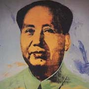 Chairman Mao by Andy Warhol